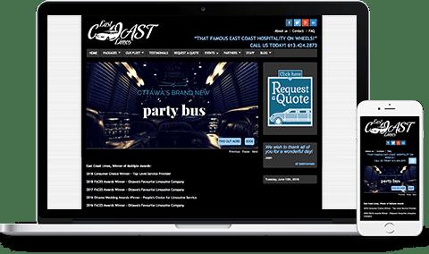 East_Coast_Limos_Website