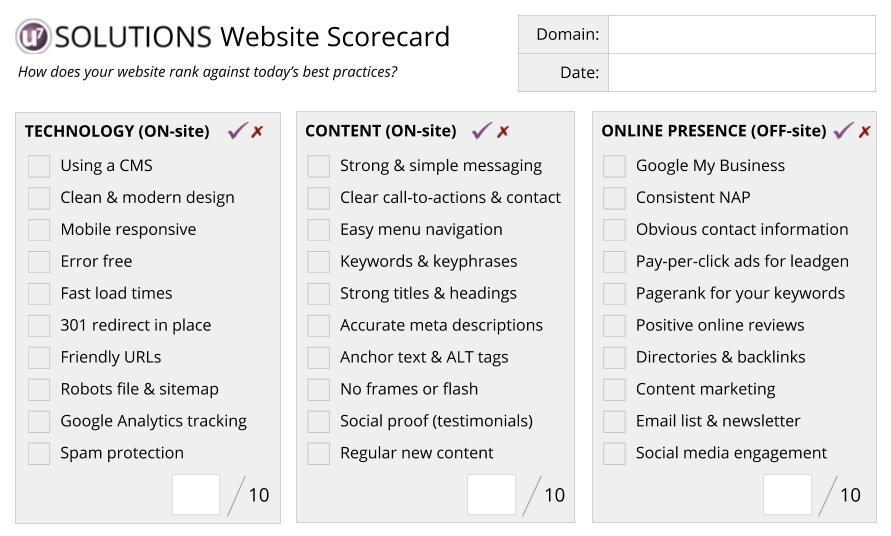 website_assessment_scorecard