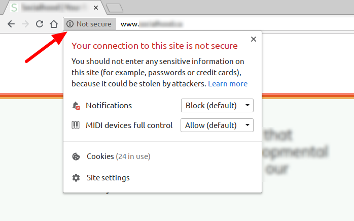 chrome-non-secure-http-warning